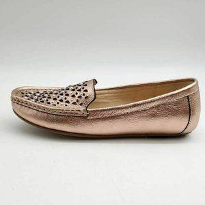 Isaac Mizrahi Andrea Loafer Shoes Metallic 6W